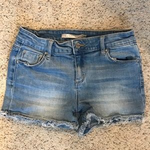Tractr Size 14 Girls Denim Shorts - New